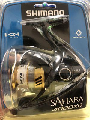 New Shimano Sahara 4000XG fishing reel for Sale in Houston, TX