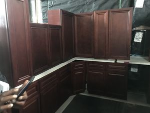 Solid wood kitchen cabinets for Sale in Philadelphia, PA