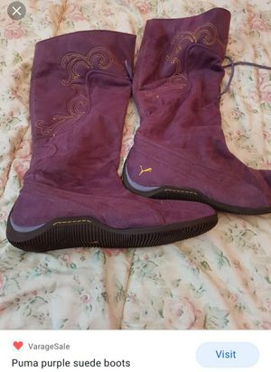 Puma woman boots 👢 for Sale in Columbus, OH