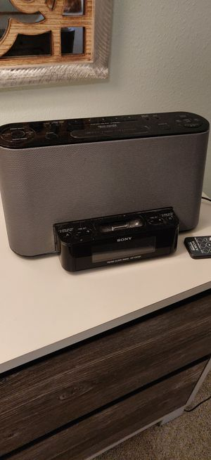 Sony Alarm clock ICF-CS10iP for Sale in Bothell, WA