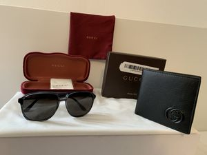 Gucci Wallet And Glasses for Sale in Dearborn, MI