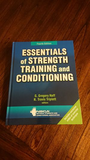 Essentials of Strength Training and Conditioning for Sale in South Gate, CA
