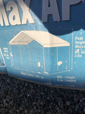 Max ap canopy 10x20 summer is right around the corner we all love shade never used for Sale in Avondale, AZ
