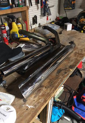 Stock Harley headers aftermarket slip one for Sale in Jacksonville, FL