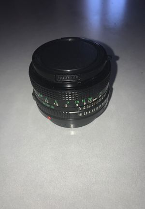 Canon Lens FD 50mm 1:1.8 for Sale in Suttons Bay, MI