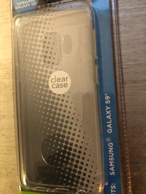 Samsung Galaxy S9 cell phone case clear brand new for Sale in Conway, SC