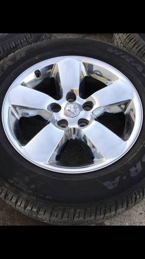 "Only one ( Not 4) 20"" Dodge Factory RIM & TIRE 5 Lug Original WHEEL Durango Rims Wheel for Sale in Dallas, TX"