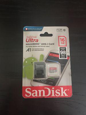 MicroSD memory card for Sale in Spring, TX
