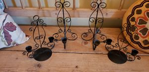 4 x Vintage Candle Holders for Sale in Amherst, OH