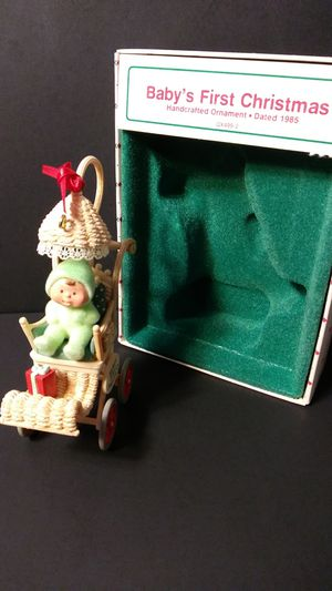 Vintage Hallmark 1985 Baby's First Christmas Ornament. for Sale in Troutdale, OR