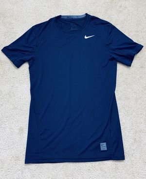 Nike Pro Fitted Training Shirt Navy Dri-Fit Size S for Sale in Falls Church, VA