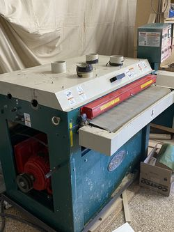 "Grizzly 37"" Dual Drum Sander for Sale in Henderson,  NV"
