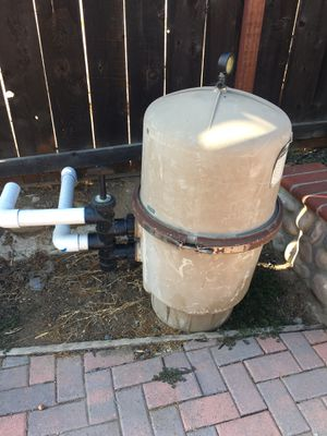 Pool pump filter. Make offer for Sale in Chula Vista, CA