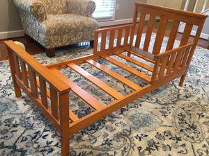 Solid wood toddler bed for Sale in Woodbridge, VA