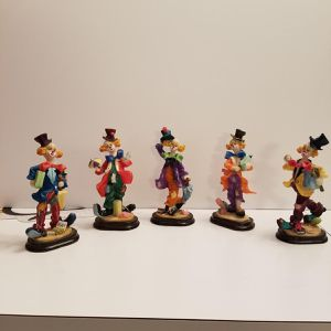 5 K's Collection Limited Clowning Around Figurine Series for Sale in Buffalo, NY