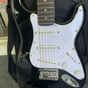 Squier Affinity Mini Stratocaster V2 Electric Guitar Black for Sale in Clearwater, FL