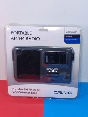 Craig AM/FM/Weather Band Radio for Sale in Hacienda Heights, CA