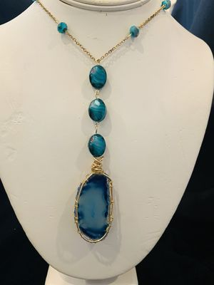 Agate Stone Necklace for Sale in Fort Washington, MD