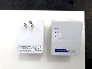 Netgear Powerline AV500 for Sale in Redmond, WA