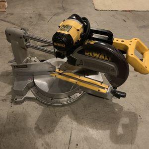 "Dewalt 12"" Double Bevel Sliding Compound Miter Saw for Sale in Kent, WA"