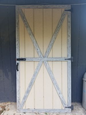 Door 4X8 for storage shed for Sale in San Antonio, TX