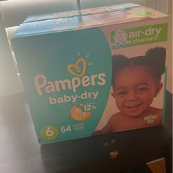 Pampers Baby Dry Size 6 for Sale in San Jose,  CA