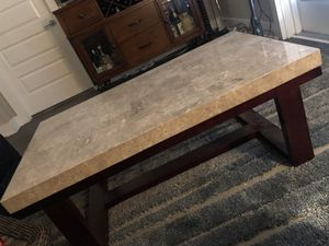 MARBLE COFFEE TABLE for Sale in Atlanta, GA