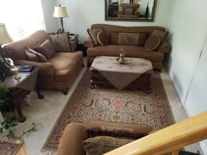 Formal Living Room Set with Tables for Sale in Alexandria, VA