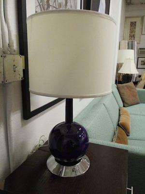 Dark Blue Lamp for Sale in Fresno, CA