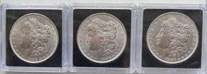 1886 silver brilliant uncirculated Morgan dollars *free shipping*. (per coin) for Sale in Cocoa, FL