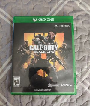 Call of Duty: Black Ops IV, Xbox One, S, X for Sale in Corning, NY