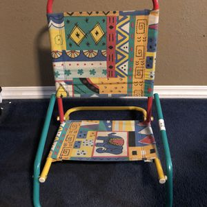 Vintage Baby Beach Chair for Sale in San Bernardino, CA