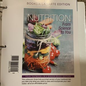 Nutrition From Science To You 4th Edition for Sale in Fresno, CA