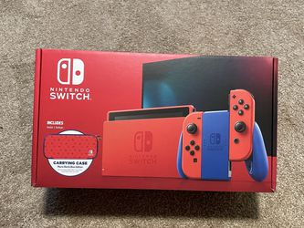 Mario Red & Blue Edition Nintendo Switch BNIB for Sale in Clackamas,  OR