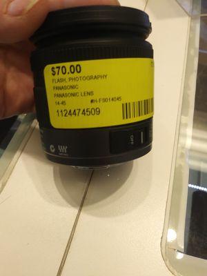 Panasonic 14-35 lens for Sale in Sebring, FL