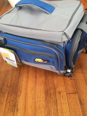 Plano tackle bag with 2 3600 tackle boxes for Sale in Los Angeles, CA