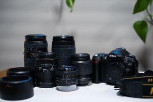Nikon D50 with Lenses for Sale in Denver, CO