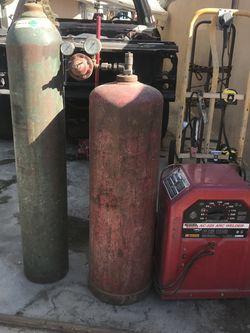 tanks & ac-225 arc welder for Sale in Fullerton,  CA