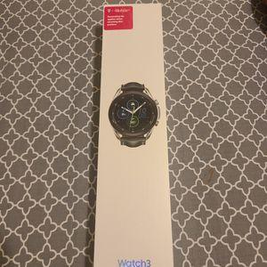 Samsung Galaxy Watch 3 (45mm/ Silver) for Sale in Dallas, TX