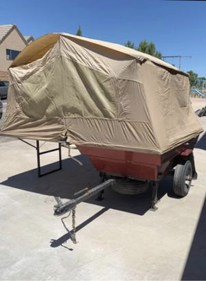 Motorcycle camper tent tailer ...... or for a car for Sale in Las Vegas, NV