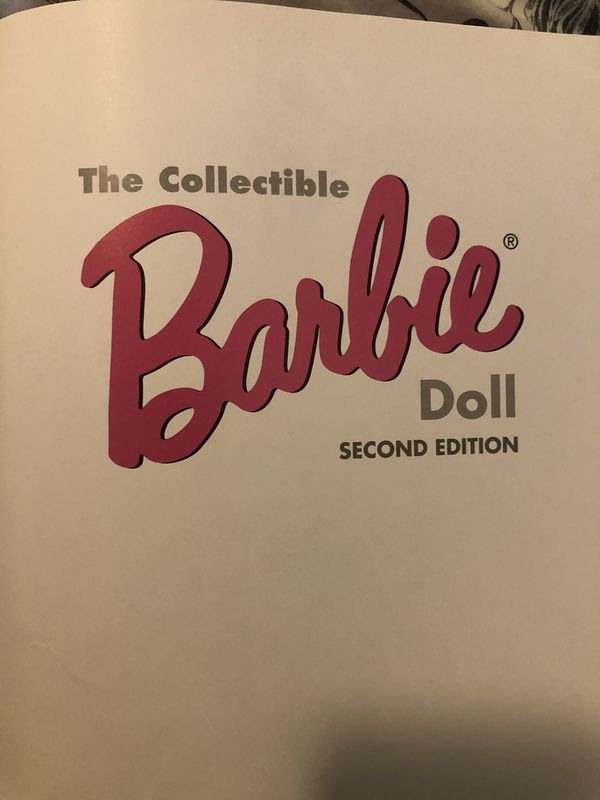 The Collectible Barbie Book (Second Edition) Janine Fennick Six Barbie dolls1966