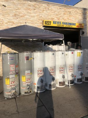 Water heaters and wallheaterrs sals new and used bboilers for Sale in Los Angeles, CA