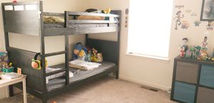 Twin size bunk bed (detachable) from Ikea for Sale in Laurel, MD