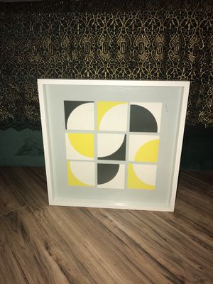 Black, Yellow and White Abstract Art for Sale in New York, NY