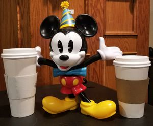 Disney Mickey Mouse 90th Birthday Celebration Souvenir Sipper Cup for Sale in El Monte, CA