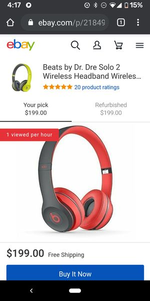 Beats headphones solo2 like new for Sale in West Palm Beach, FL