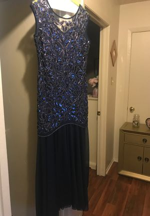 NEW NAVY BLUE BALL/PROM/WEDDING DRESS for Sale in Killeen, TX