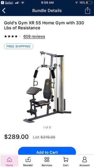 Golds Gym XR 55 Complete Home Gym for Sale in Taylor, TX