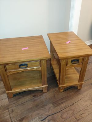 End tables excellent condition. for Sale in Longview, TX
