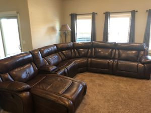 Ashley Furniture 3 Piece Power Recliner with Chase Lounge Option for Sale in Hanford, CA